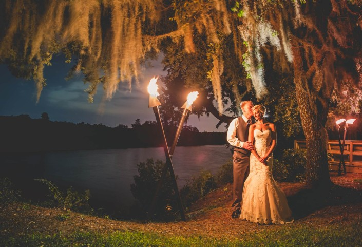 Magnolia Plantation Conservatory Wedding