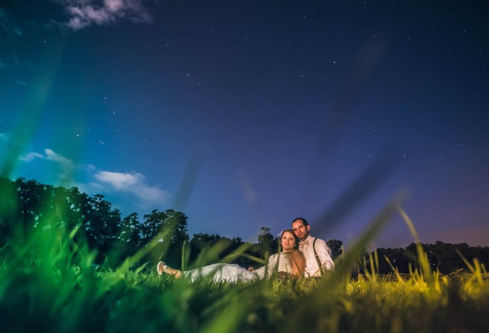 Under the stars at Magnolia Plantation