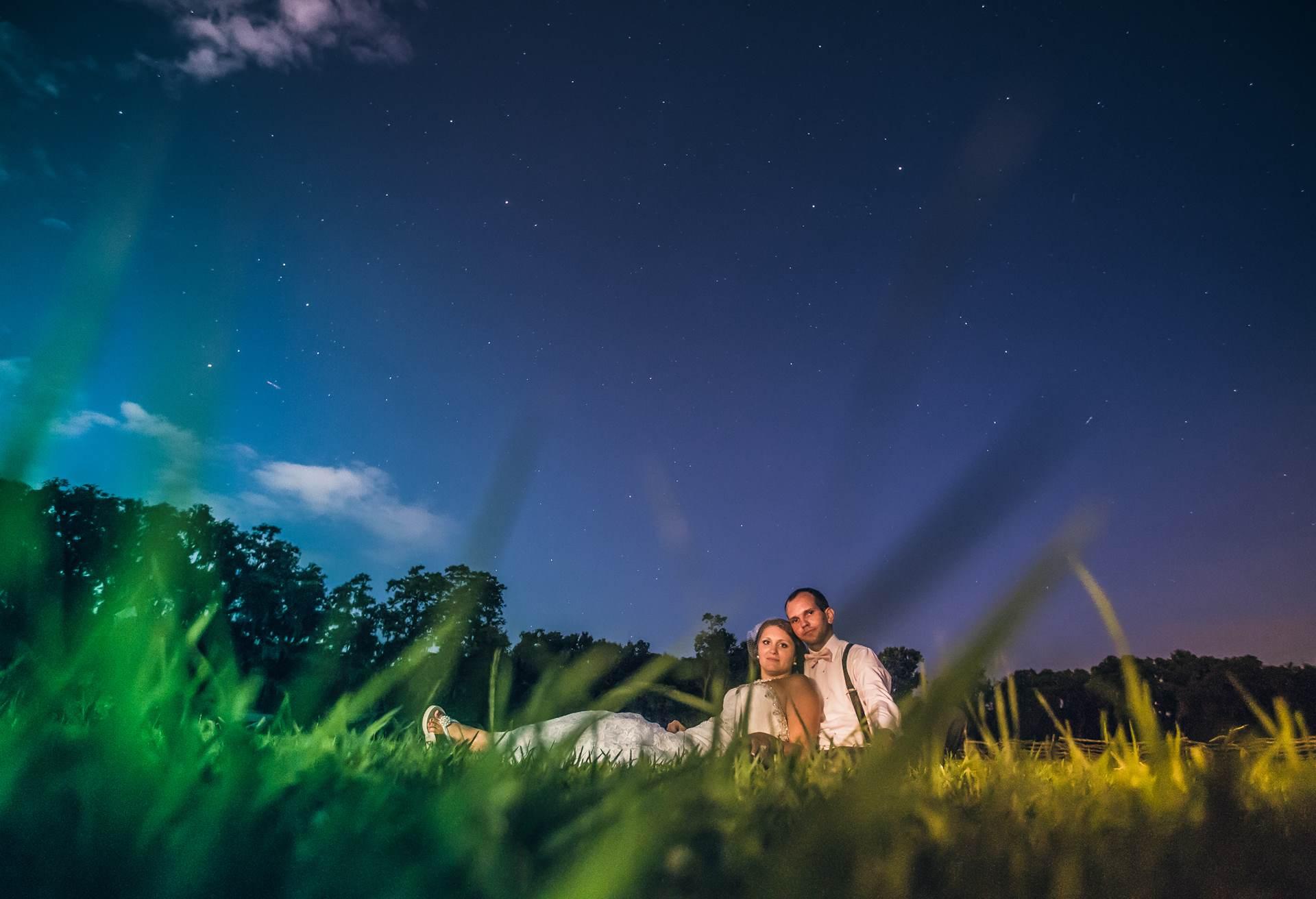 Under the stars at Magnolia Plantation