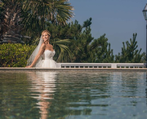 Infinity Pool Bridal at Wild Dunes