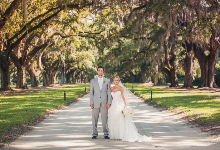 Historic Avenue of Oaks at Boone Hall
