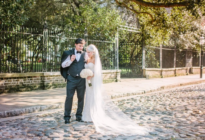 Hibernian Society Hall Wedding Cobblestone Street