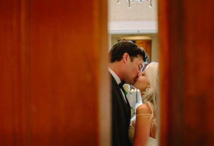 Hibernian Hall Couples Kiss Charleston