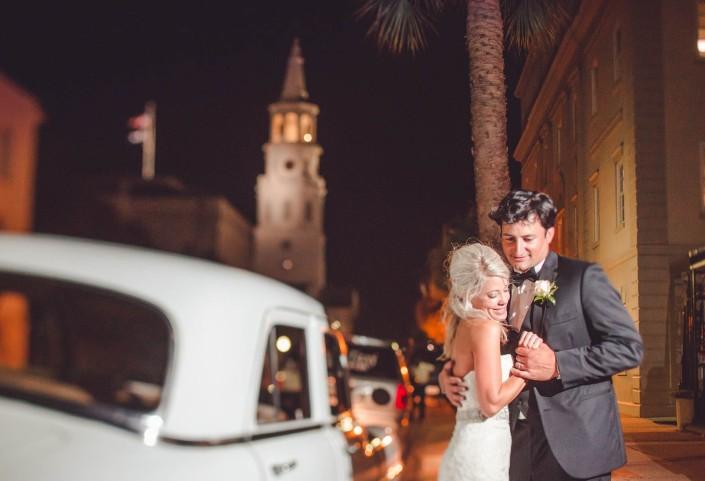 Hibernian Hall Wedding Downtown Charleston