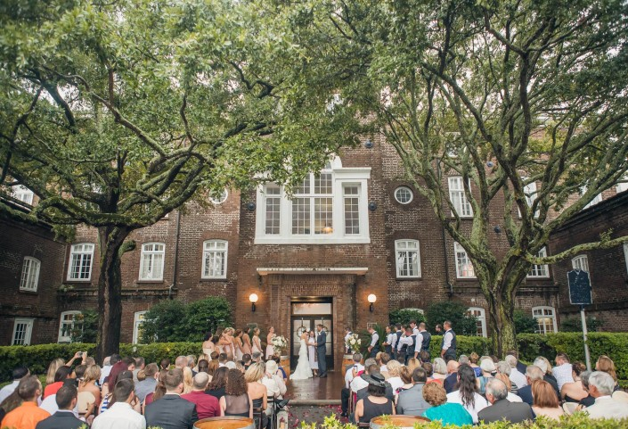 Ceremony at the Rice Mill Building
