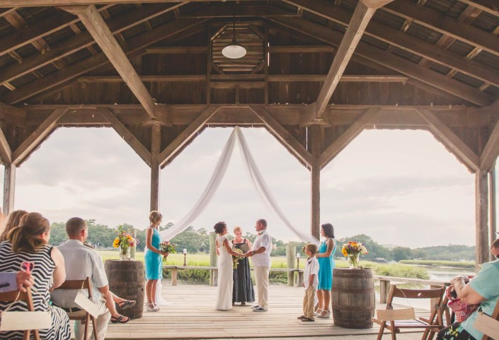 Cotton Dock Ceremony