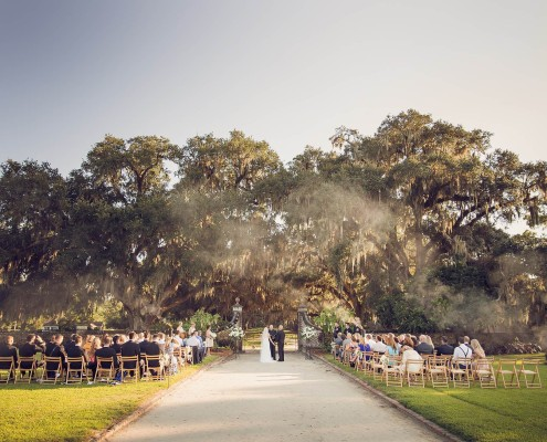 Ceremony Photo at Boone Hall Plantation