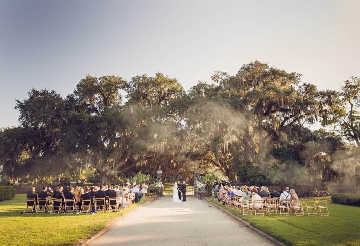 Ceremony Photo at Boone Hall Plantation