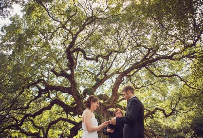 Wedding at Angel Oak