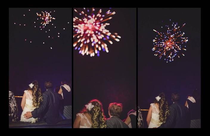 Fireworks, Charleston Wedding, Photography