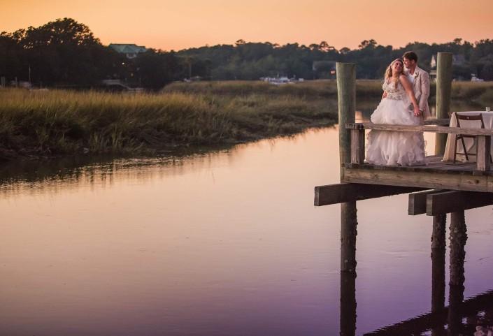 Cotton Dock Wedding Reception