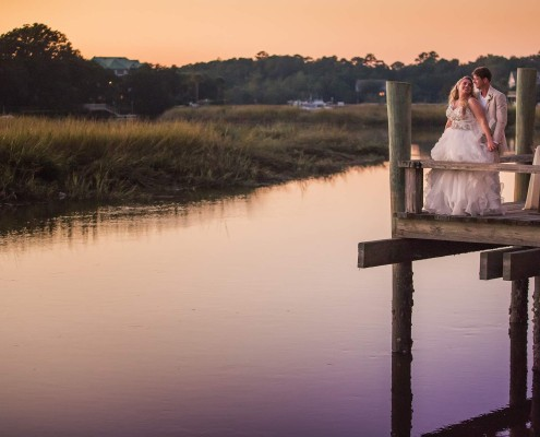 Cotton Dock Wedding Reception
