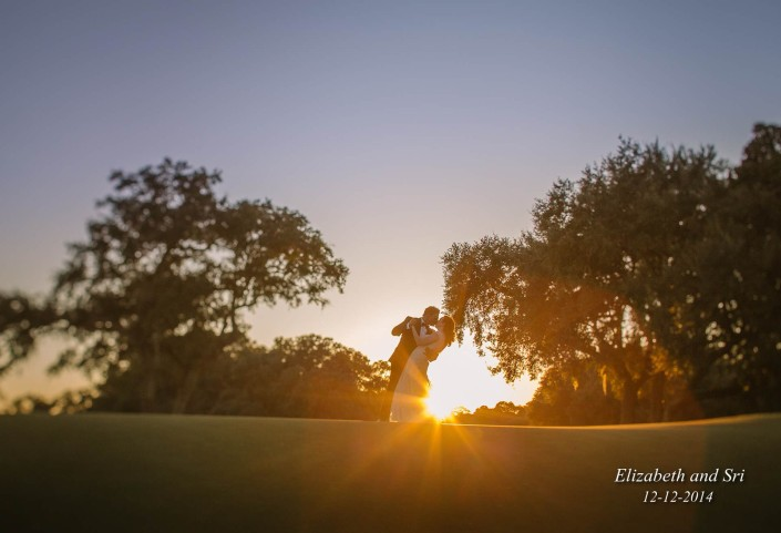 Charleston Country Club Sunset