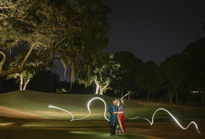 Charleston Country Club Light Painting