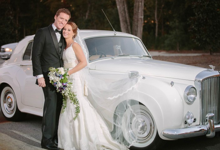 Bentley Car Charleston Wedding