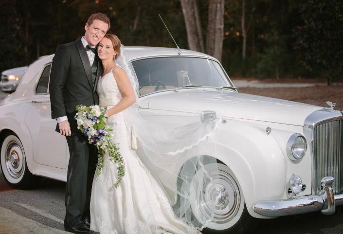 Bentley Car Charleston Wedding