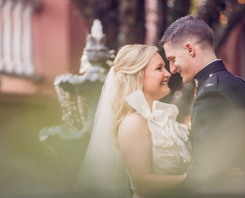 Charleston marine wedding