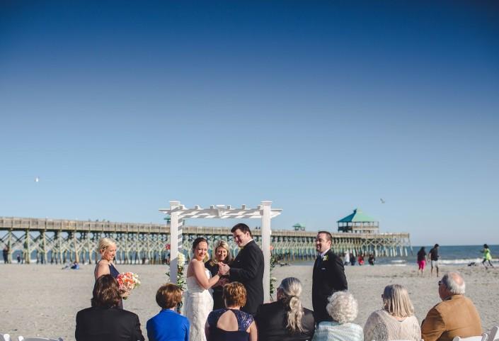 Folly Beach The Tides Wedding