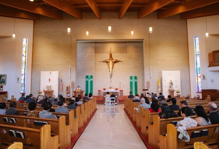 Immaculate Conception Catholic , Charleston Wedding