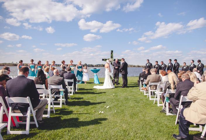 The Island House Wedding Ceremony