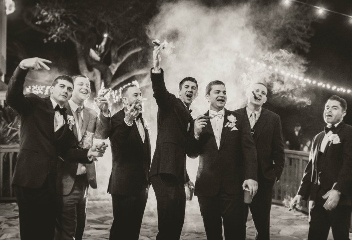 Guys and Cigars, Groom
