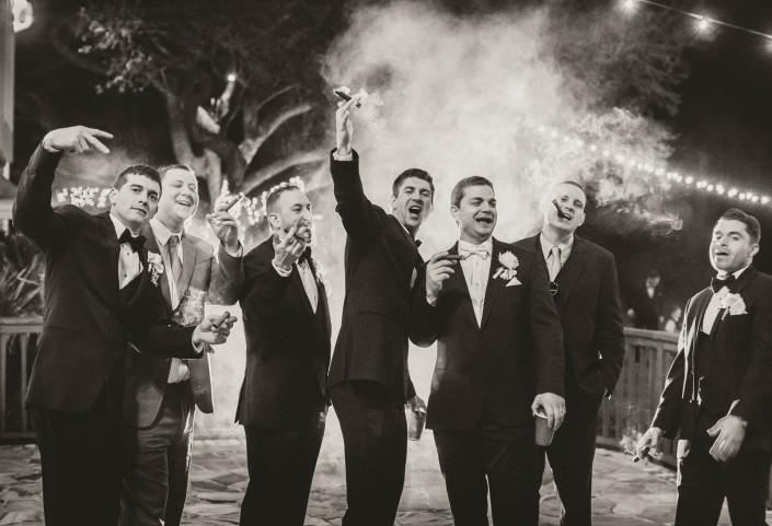 Guys and Cigars, Groom
