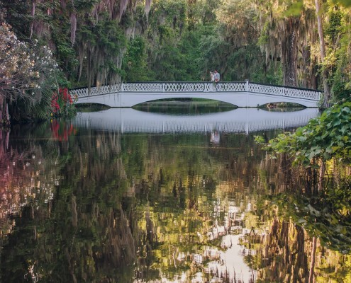 Charleston Wedding at Magnolia Plantation Veranda