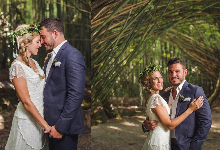 Bamboo Gardens at Magnolia Plantation Wedding