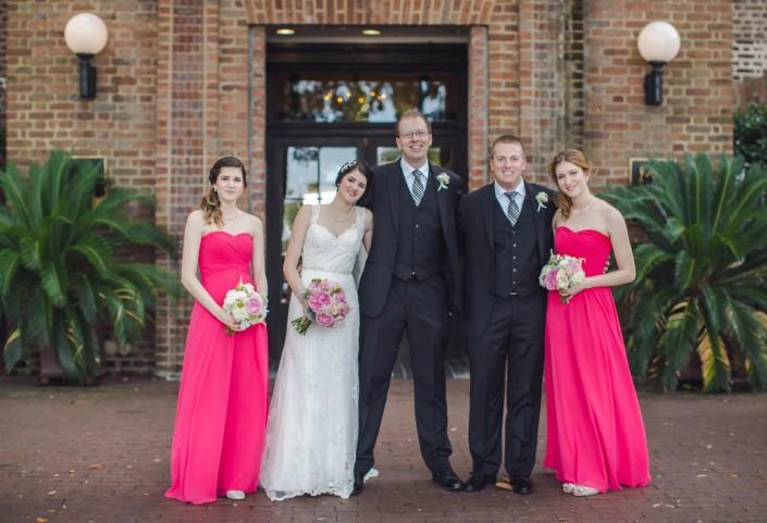 Bridal Party at Rice Mill