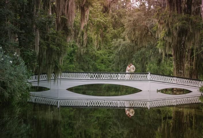 The White Bridge of Magnolia Plantation
