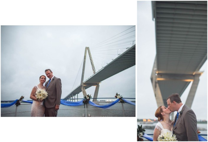 Charleston Bridge Bride and Groom
