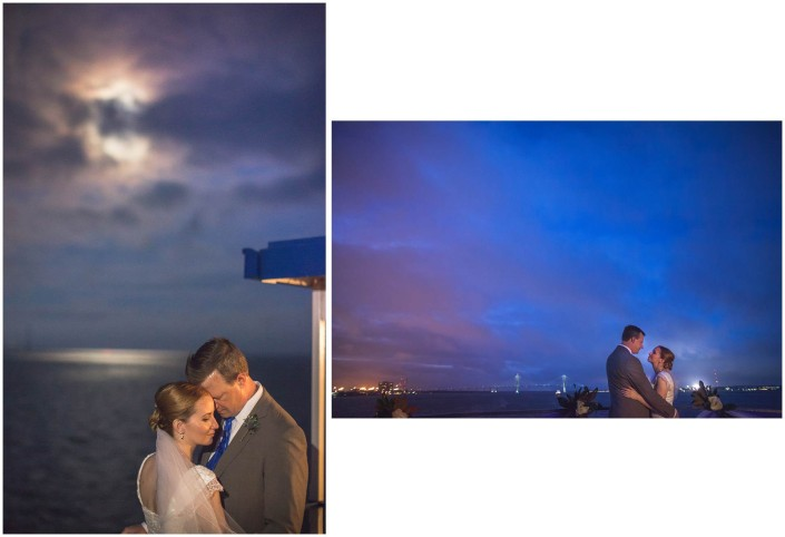 Harbor Sunset Wedding