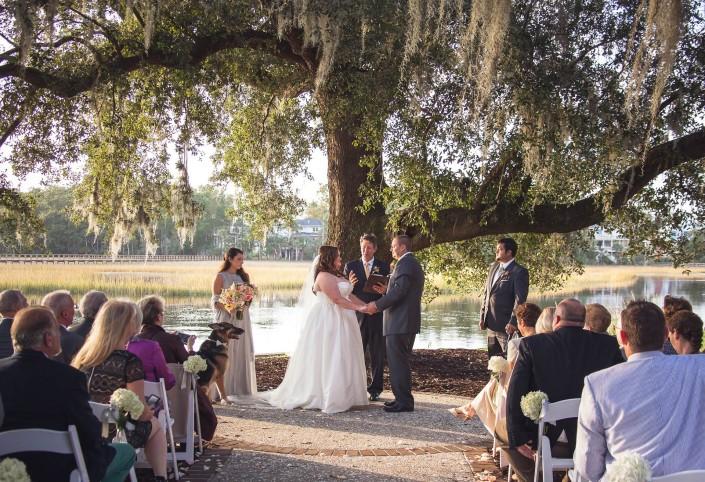 Riverside wedding Dunes West