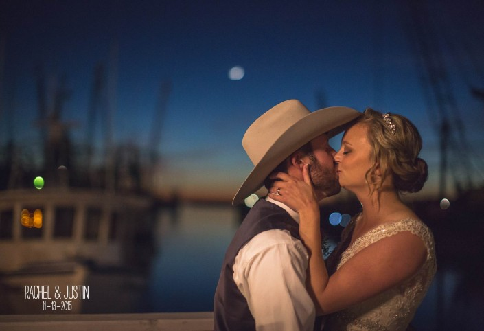 Shem Creek Bride and Groom