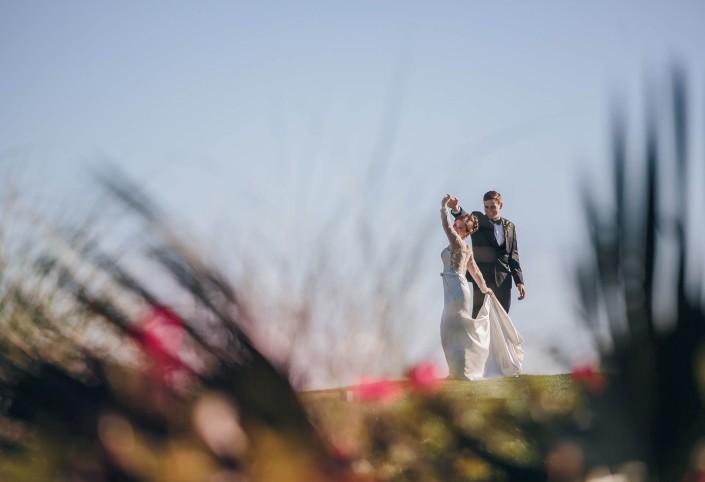 Pawleys Plantation Wedding Dancing Outside