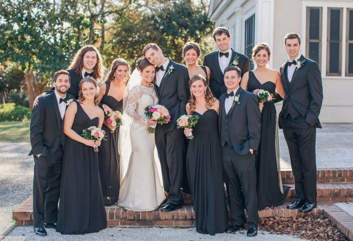 Pawleys Plantation Wedding Party 2