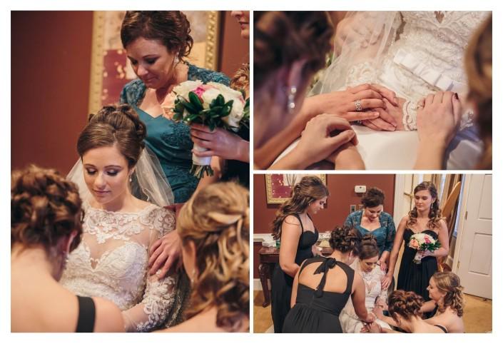 Pawleys Plantation Wedding Bridal Prayer