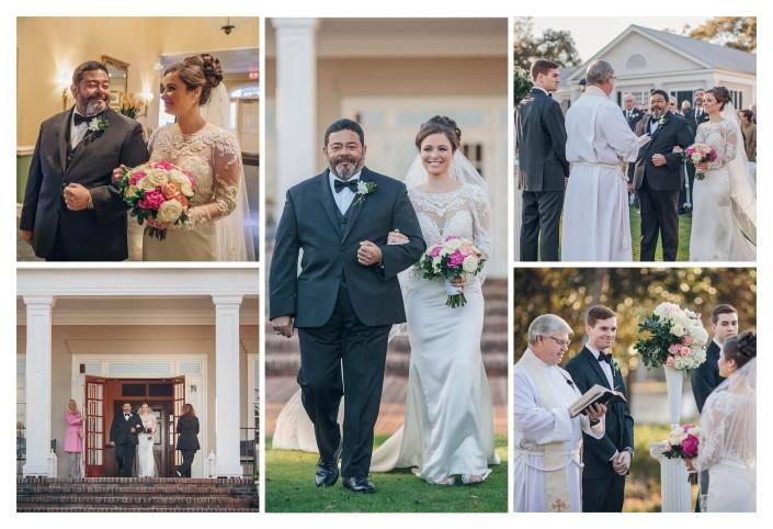 Pawleys Plantation Wedding Bride's Father