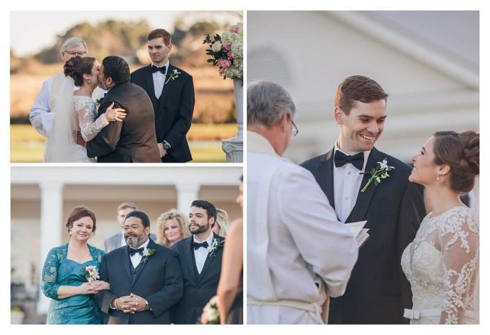 Pawleys Plantation Wedding Gives Bride Away
