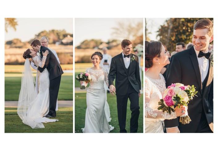 Pawleys Plantation Wedding Kiss