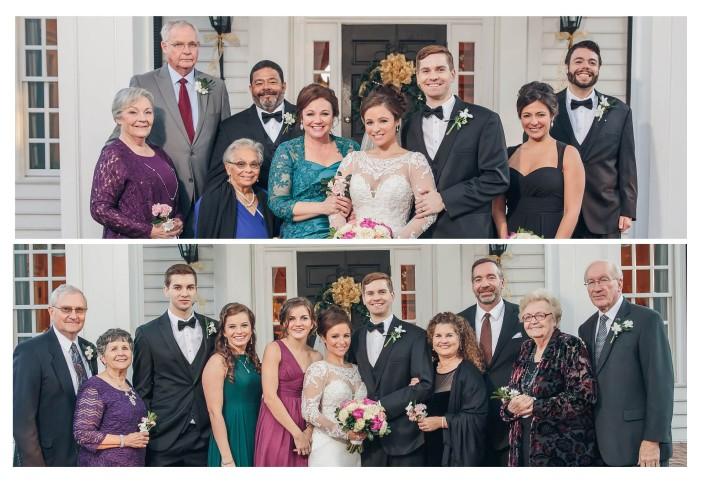 Pawleys Plantation Wedding Relatives