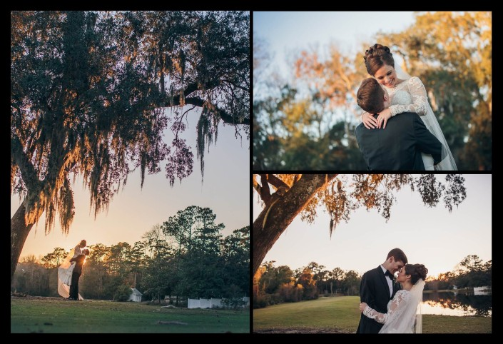 Pawleys Plantation Wedding Lake