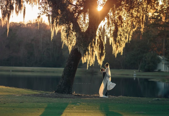 Pawleys Plantation Wedding By Lake
