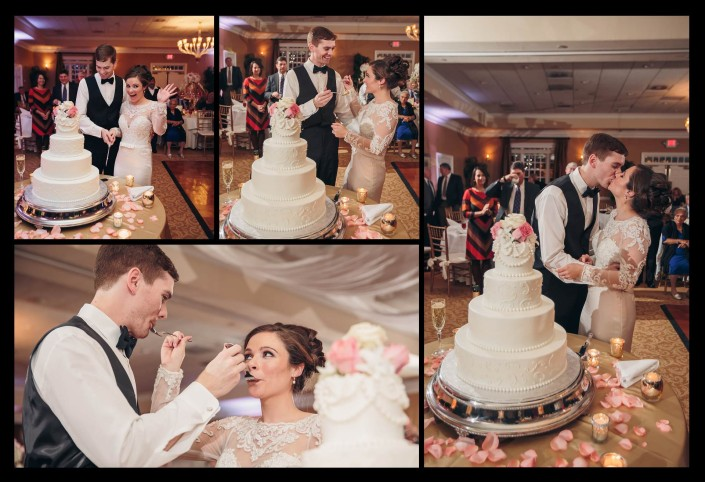 Pawleys Plantation Wedding Cake Collage