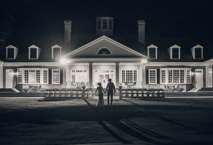 Pawleys Plantation Wedding B&W