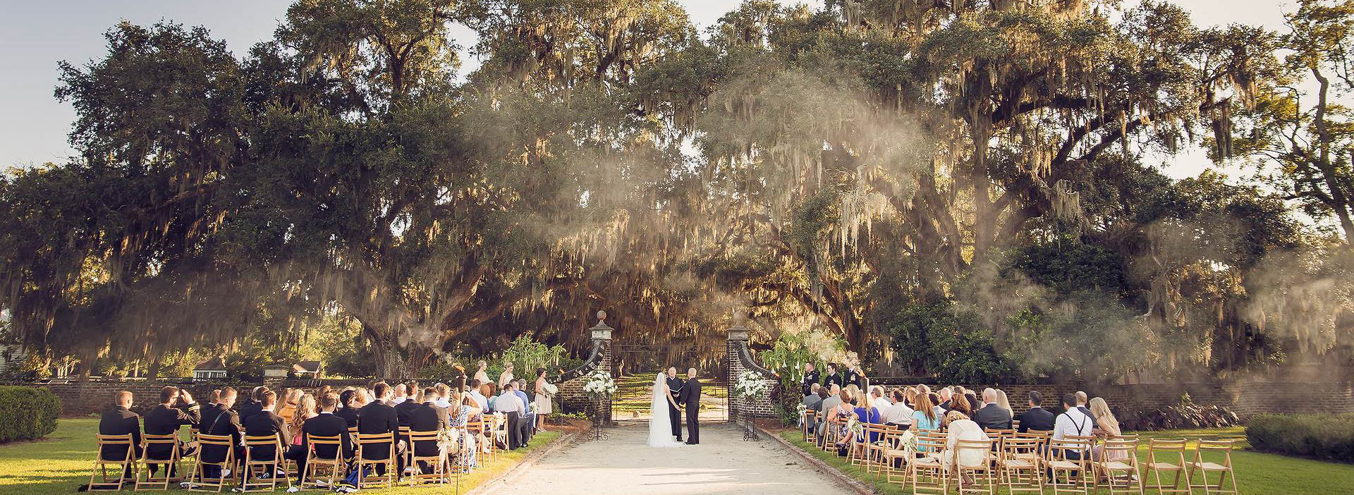 Boone Hall Plantation Ceremony Gate Wedding