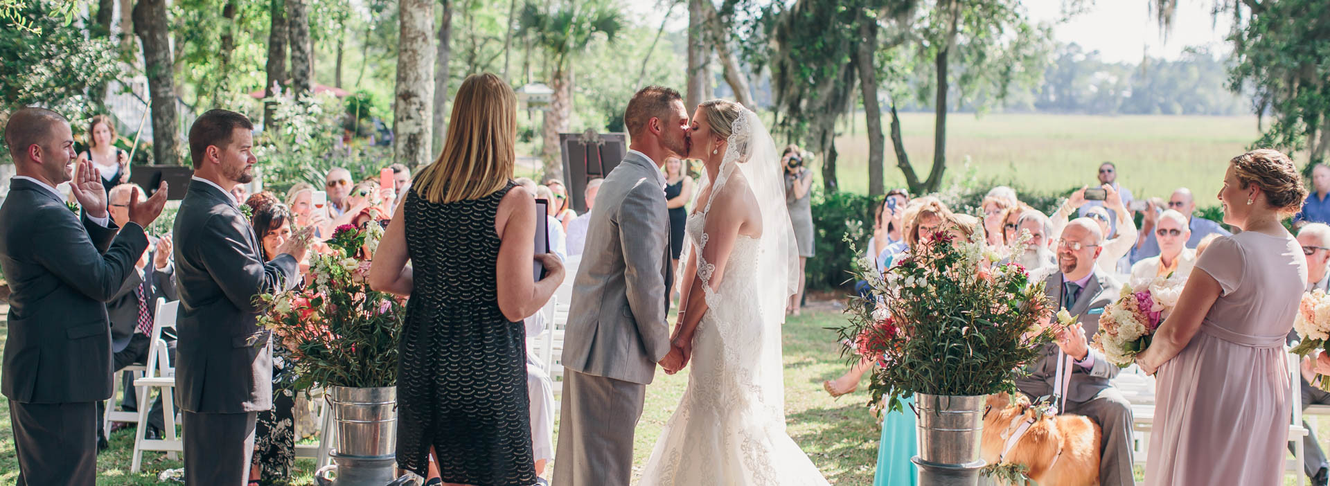 Ceremony at Creek Club at I'On
