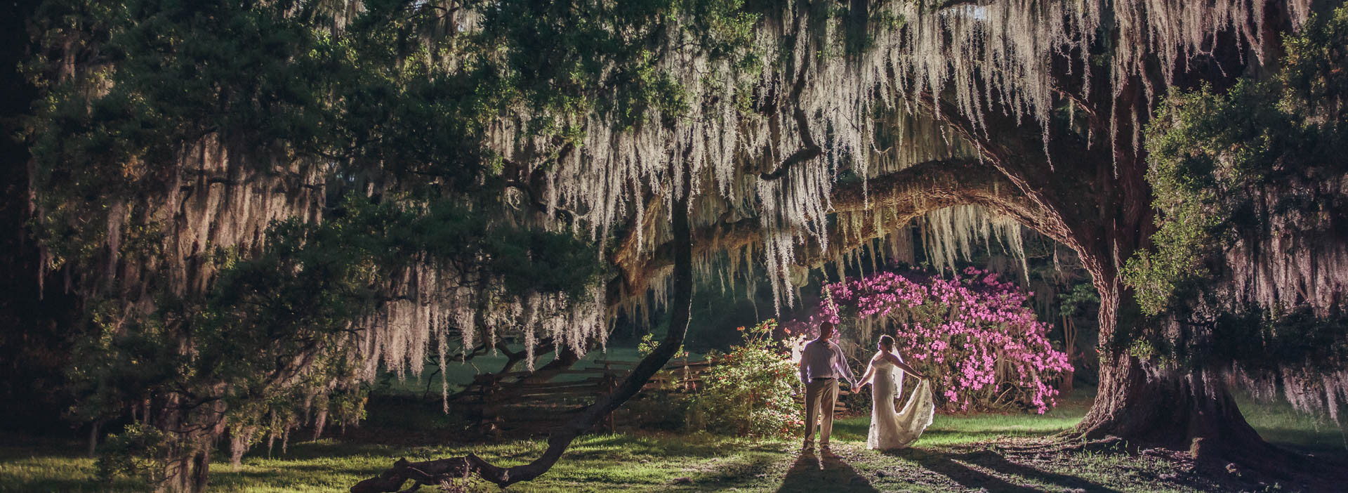 Charleston Wedding Photos at Magnolia Plantation