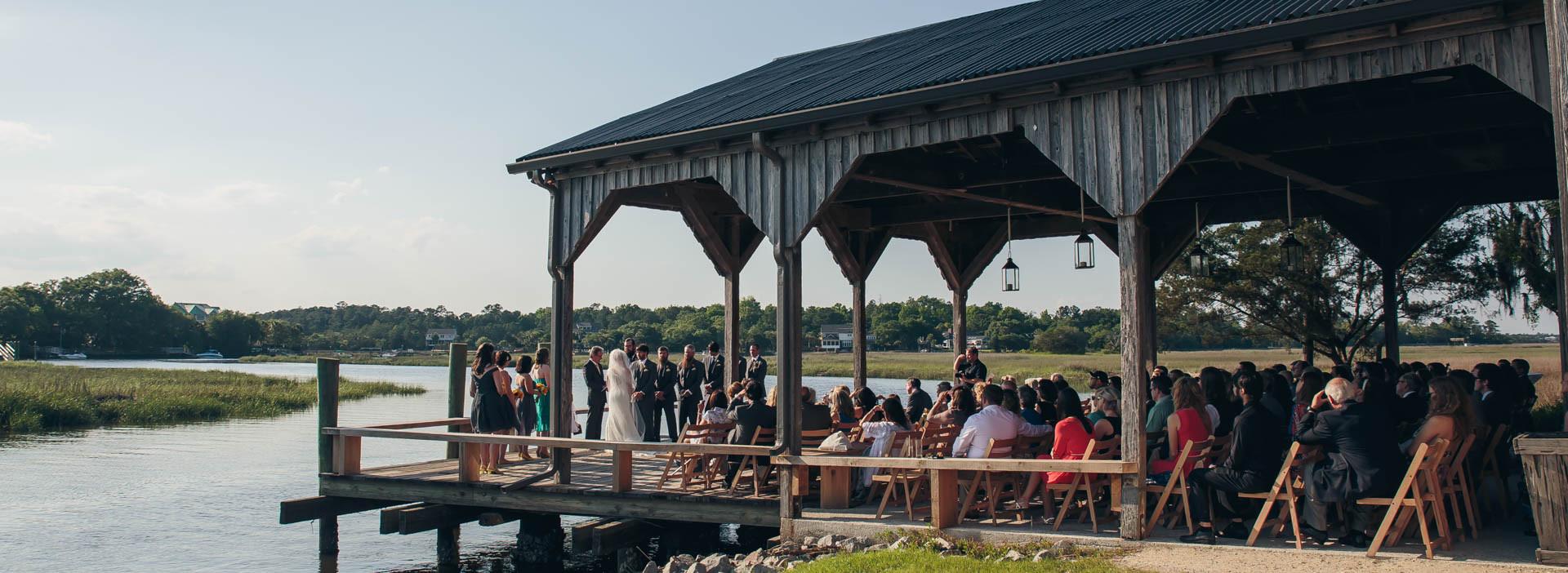 Cotton Dock Ceremony Photo