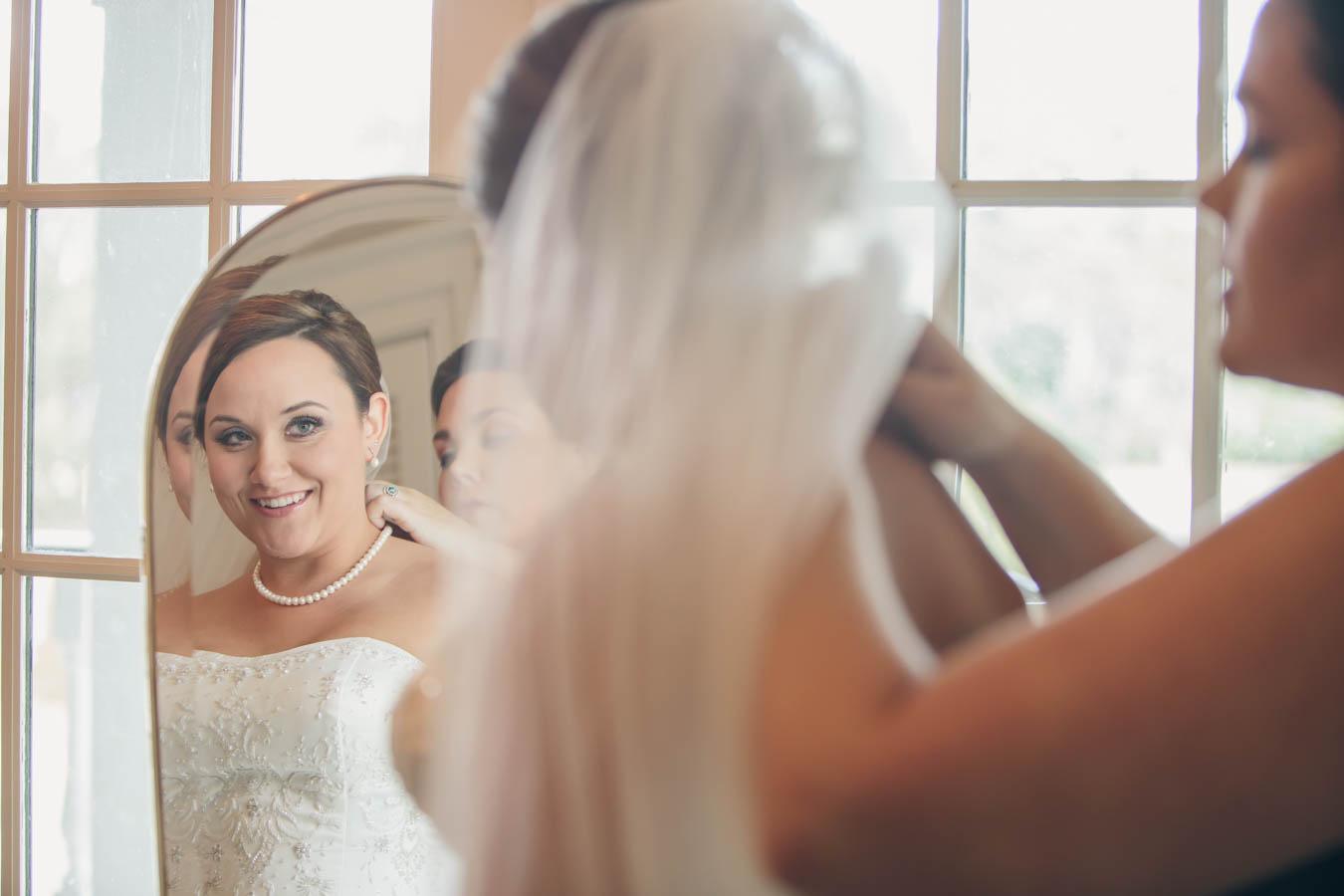 Getting Ready Mirror Shot